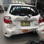 lm smash repair rear end damage insurance claim
