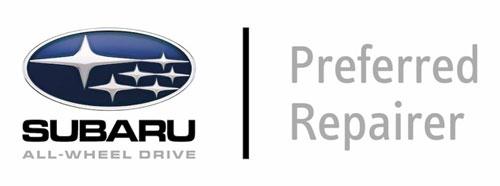 Subaru prefered smash repairer