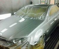 vehicle spray painting L & M Smash Repair